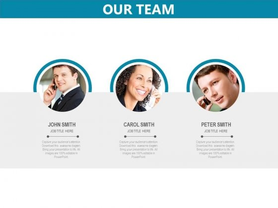 our team powerpoint templates slides and graphics
