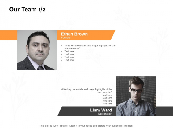 Our Team Planning Ppt PowerPoint Presentation File Example Introduction