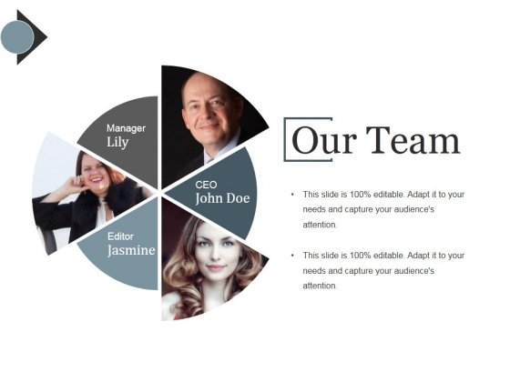 Our Team Ppt PowerPoint Presentation Ideas Example