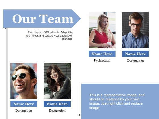 Our Team Ppt PowerPoint Presentation Ideas Objects
