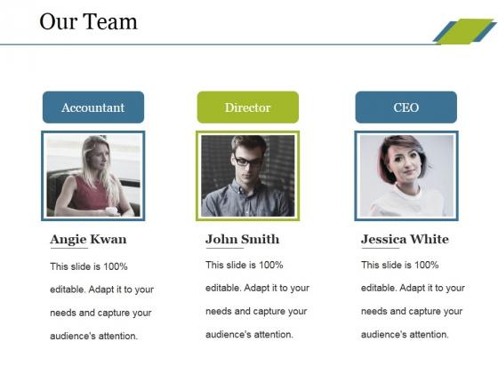 Our Team Ppt PowerPoint Presentation Ideas Slides