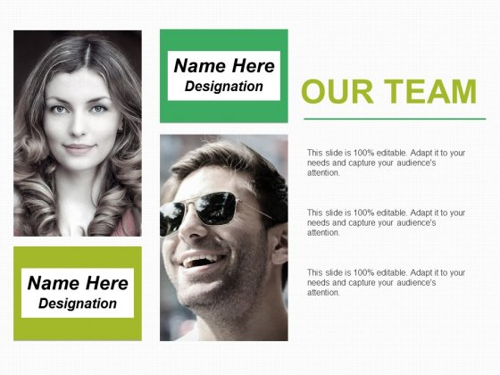 Our Team Ppt PowerPoint Presentation Infographic Template Visuals