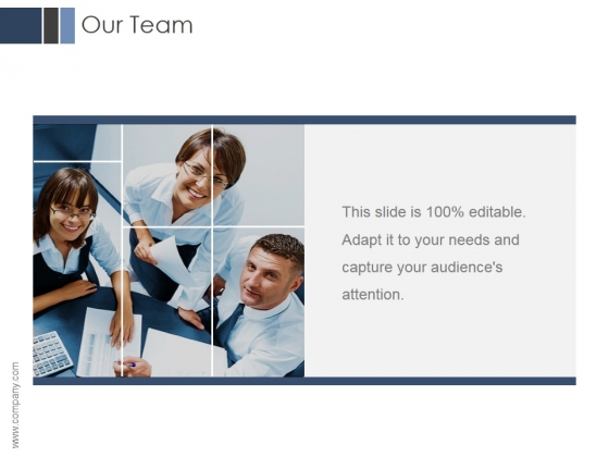 Our Team Ppt PowerPoint Presentation Inspiration