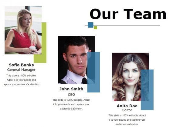 Our Team Ppt PowerPoint Presentation Layouts Graphics Example