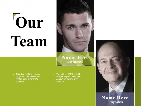 Our Team Ppt PowerPoint Presentation Layouts Templates