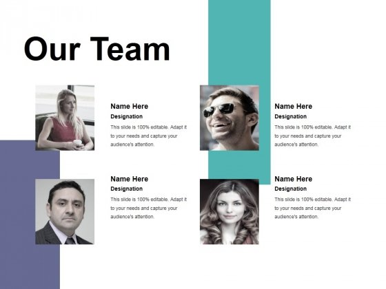 Our Team Ppt PowerPoint Presentation Model Guide