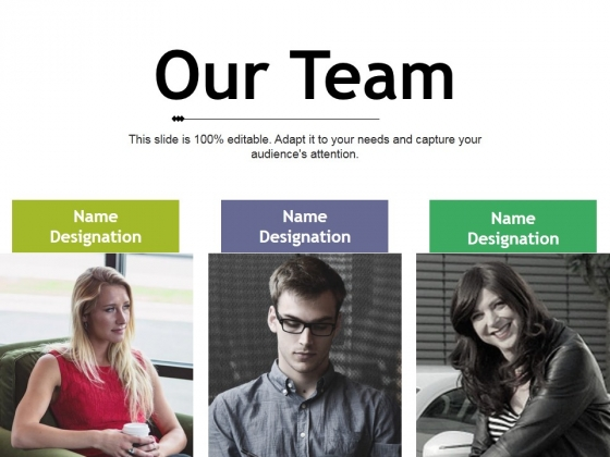 our team ppt powerpoint presentation portfolio infographic template