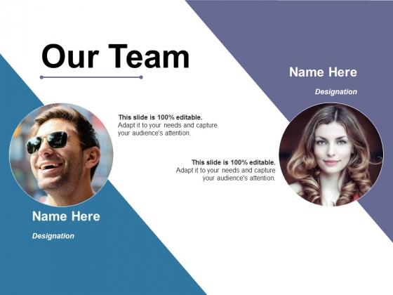 Our Team Ppt PowerPoint Presentation Portfolio Shapes