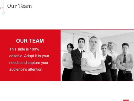 Our Team Ppt PowerPoint Presentation Styles Design Ideas