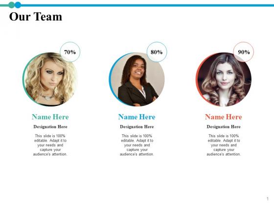 Our Team Teamwork Ppt PowerPoint Presentation Infographics Deck