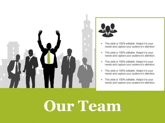 Our Team Template 1 Ppt PowerPoint Presentation Gallery Layout Ideas