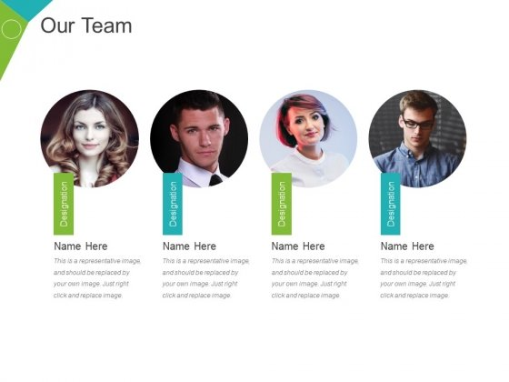 Our Team Template 1 Ppt PowerPoint Presentation Pictures Elements
