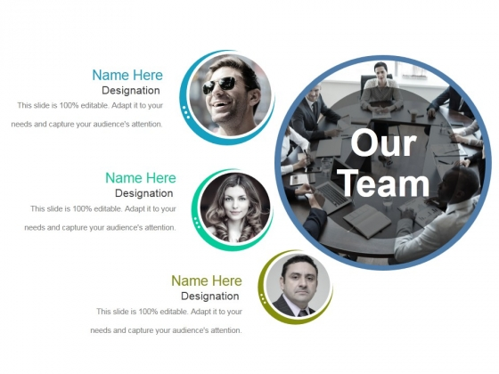Our Team Template 1 Ppt PowerPoint Presentation Styles Microsoft