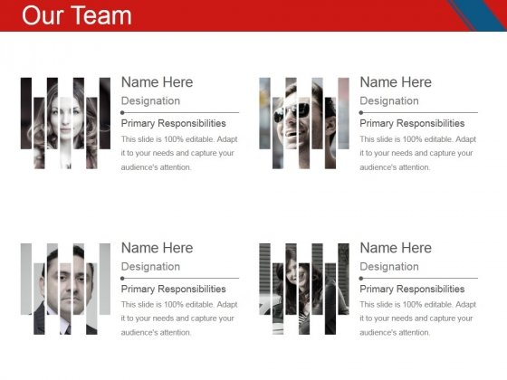 Our Team Template 1 Ppt PowerPoint Presentation Styles Pictures