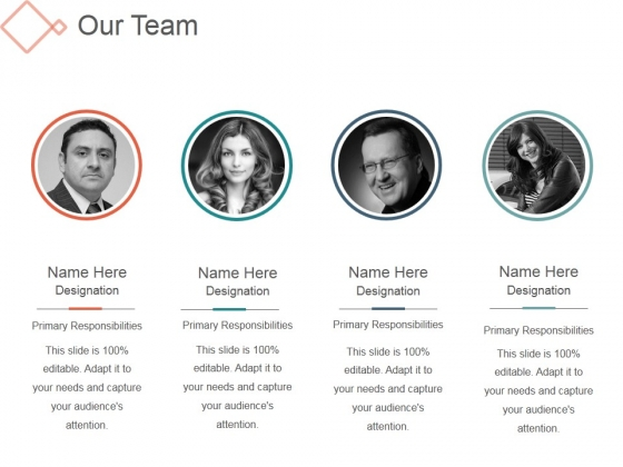 Our Team Template 2 Ppt PowerPoint Presentation Visuals - PowerPoint