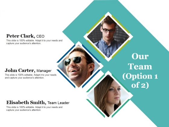 Our Team Template Ppt PowerPoint Presentation Show Sample