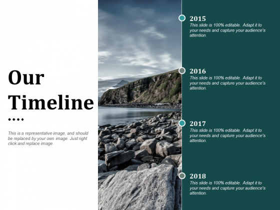 Our Timeline Ppt PowerPoint Presentation Styles Design Ideas