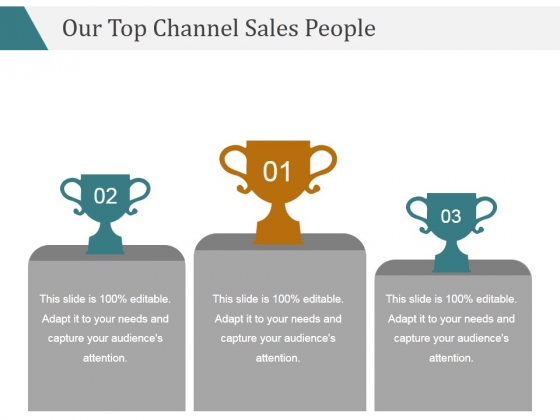 Our Top Channel Sales People Ppt PowerPoint Presentation Introduction