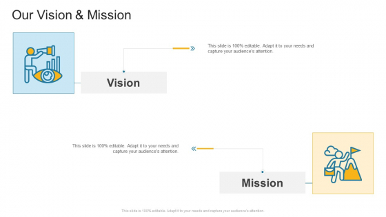 Our Vision And Mission Company Profile Ppt Gallery Example PDF