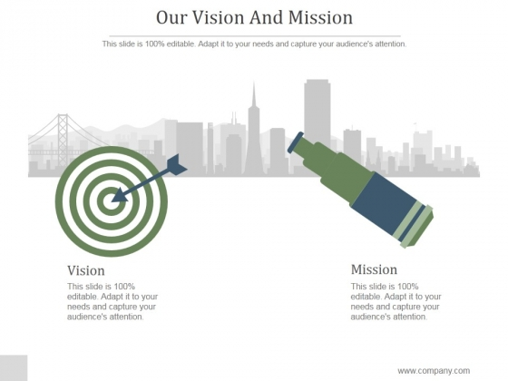 Our Vision And Mission Ppt PowerPoint Presentation Example 2015
