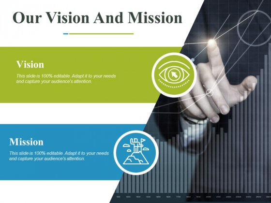 Our Vision And Mission Ppt PowerPoint Presentation Inspiration Topics