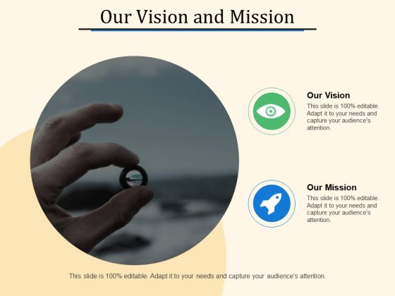 Our Vision And Mission Ppt PowerPoint Presentation Layouts Elements