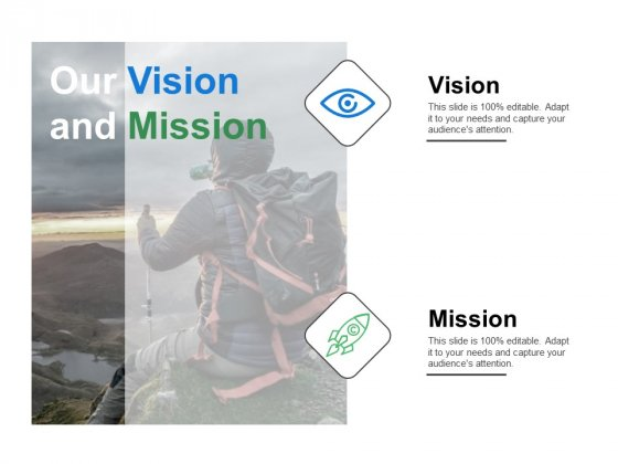 Our Vision And Mission Ppt PowerPoint Presentation Pictures Graphics Design