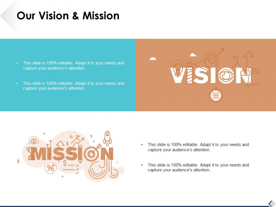 Our Vision And Mission Ppt PowerPoint Presentation Portfolio Deck