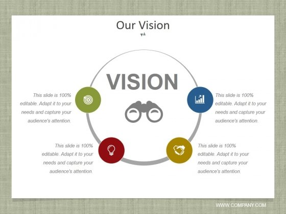 Our Vision Ppt PowerPoint Presentation Outline Display