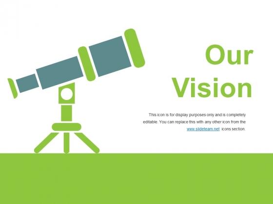 Our Vision Ppt PowerPoint Presentation Outline Slide Portrait