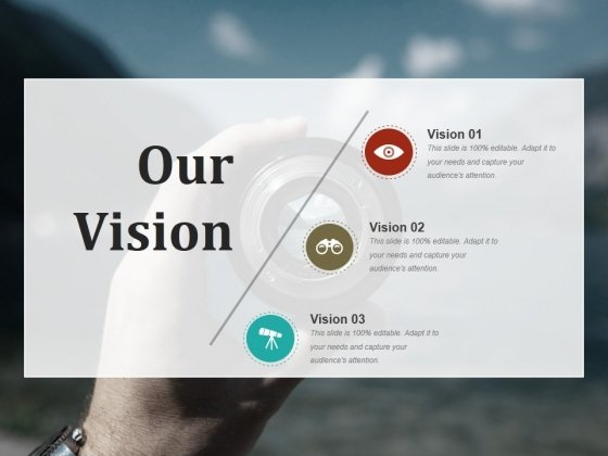 Our Vision Ppt PowerPoint Presentation Show Display