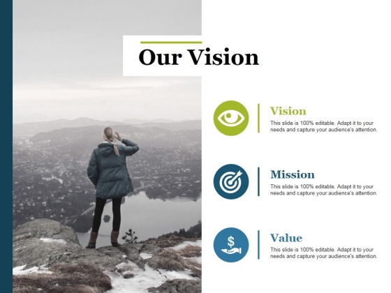 Our Vision Ppt PowerPoint Presentation Styles Master Slide