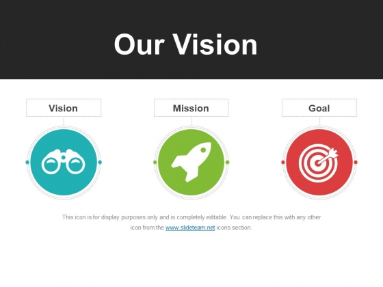 Our Vision Template 2 Ppt PowerPoint Presentation Professional Portrait