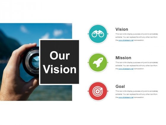 Our Vision Template 3 Ppt PowerPoint Presentation Styles Diagrams