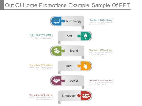 Out Of Home Promotions Example Sample Of Ppt