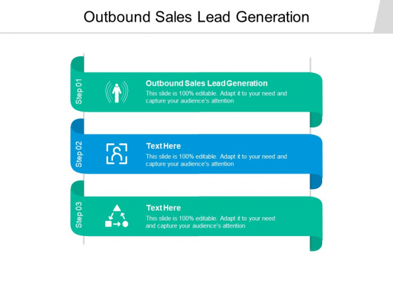 Outbound Sales Lead Generation Ppt PowerPoint Presentation Pictures Icons Cpb