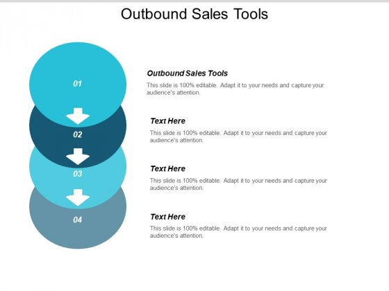 Outbound Sales Tools Ppt PowerPoint Presentation Model Ideas Cpb