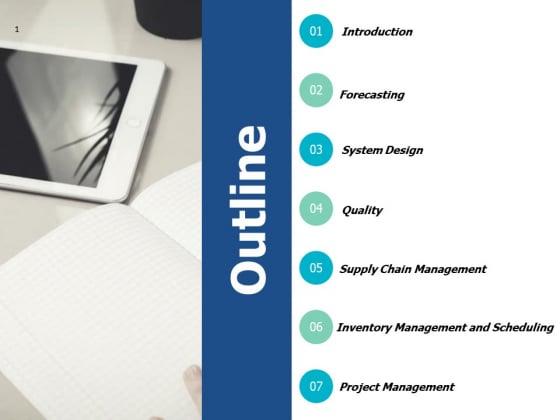 Outline Supply Chain Management Ppt PowerPoint Presentation Slides Show