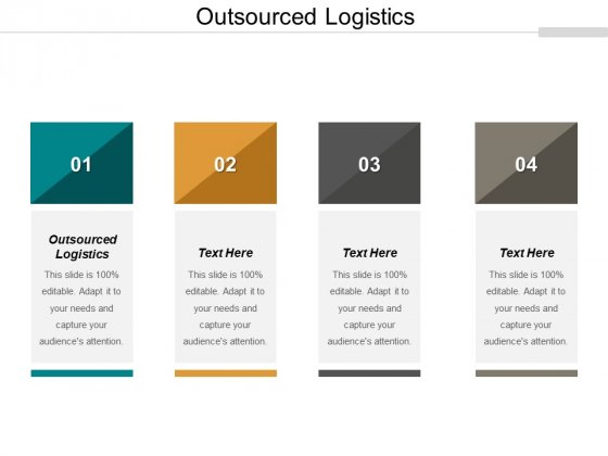 Outsourced Logistics Ppt PowerPoint Presentation Summary Demonstration Cpb
