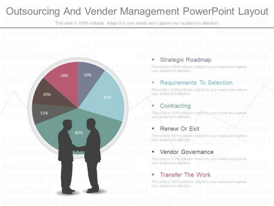 Outsourcing And Vender Management Powerpoint Layout
