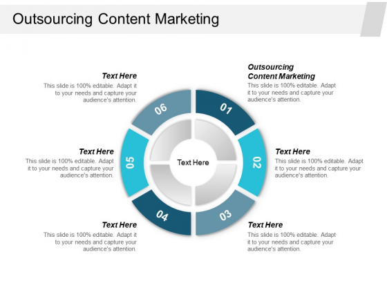 Outsourcing Content Marketing Ppt PowerPoint Presentation Slides Good Cpb