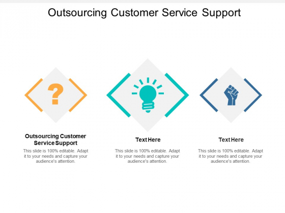 Outsourcing Customer Service Support Ppt PowerPoint Presentation Infographic Template Vector Cpb