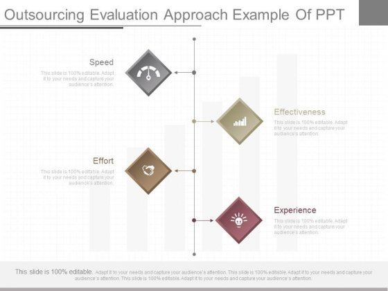 Outsourcing Evaluation Approach Example Of Ppt