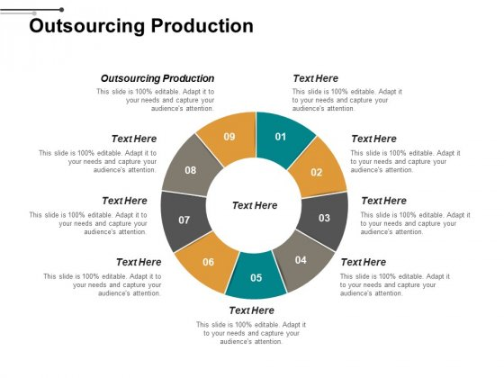 Outsourcing Production Ppt PowerPoint Presentation Ideas Slide Download