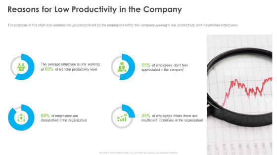 Outstanding Employee Reasons For Low Productivity In The Company Download PDF