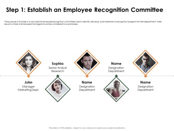 Outstanding Employee Step 1 Establish An Employee Recognition Committee Download PDF
