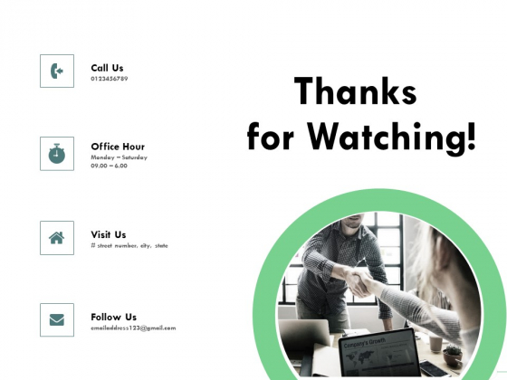 Outstanding Performer Workplace Thanks For Watching Ppt Styles Outfit PDF