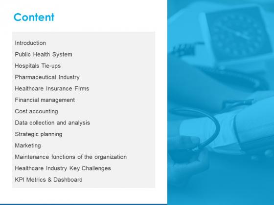 Overview Healthcare Business Management Content Ppt Pictures Show PDF