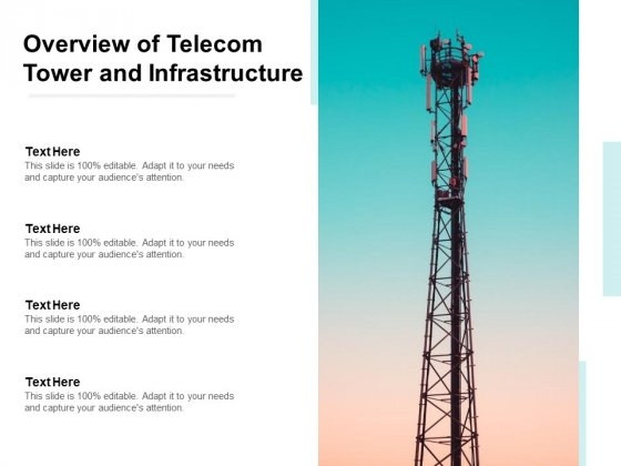 Overview Of Telecom Tower And Infrastructure Ppt PowerPoint Presentation Show Display
