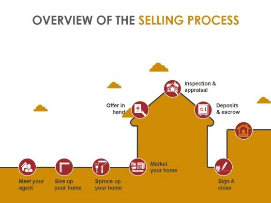 Overview Of The Selling Process Template 1 Ppt PowerPoint Presentation Icon